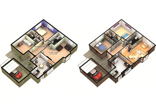 Williams Estate Agents 3D Floorplans